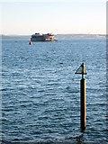 SZ6497 : Southsea - Danger Rocks by Roy Hughes