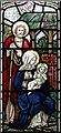 TQ2385 : St Gabriel, Walm Lane, Cricklewood - Stained glass window by John Salmon