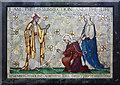 TQ2385 : St Gabriel, Walm Lane, Cricklewood - Mosaic by John Salmon