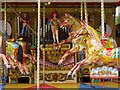 NZ2154 : Steam-powered carousel, Beamish Museum by Andrew Curtis