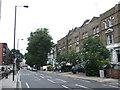 TQ2577 : Lillie Road, near Earl's Court by Malc McDonald