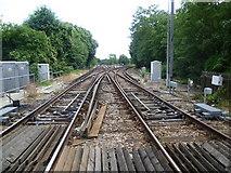 TQ1572 : Railway junction at Strawberry Hill by Marathon