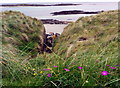 NM1153 : Rocky inlet at Traigh Halum by Gordon Brown