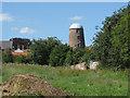 SE6986 : Grade II listed Windmill tower, Kirkbymoorside by Pauline E