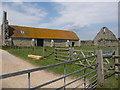 SZ4098 : St. Leonards: the Tithe Barn by Chris Downer