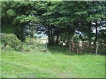 SK2649 : Public Footpath near The Mountain by Jonathan Clitheroe