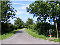 TM4167 : Footpath to Watermill Farm & The Causeway by Adrian Cable