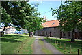 NU2229 : Row of Cottages, Beadnell by N Chadwick