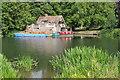 SU6087 : Boathouse near Carmel College by Philip Halling