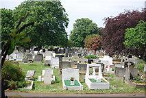 TQ2673 : Wandsworth Cemetery by N Chadwick