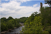 NZ0416 : The River Tees at Barnard Castle by Ian Greig