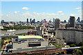TQ3080 : London Skyline - looking East from the London Eye by Christine Matthews