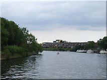 TQ1667 : River Thames at Thames Ditton by Malc McDonald