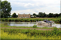 TQ1776 : Syon House and River Thames, Kew, London by Christine Matthews