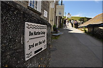 SW9980 : Port Isaac : Roscarrock Hill by Lewis Clarke
