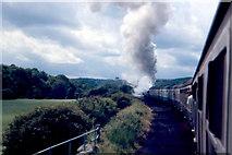 SE8394 : North Yorkshire Moors Railway - 1987 by Helmut Zozmann