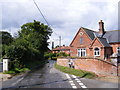 TG0127 : Church Road, Wood Norton by Adrian Cable