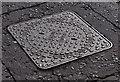 J3069 : Sidney Smith manhole cover, Finaghy, Belfast by Albert Bridge