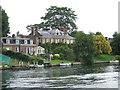 TQ1769 : House by the river, Hampton Wick by Malc McDonald
