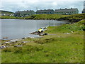 NG0187 : Kayaks on Loch Steisebhat by Dave Fergusson