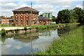 TL3707 : Pumping Station, New River, Broxbourne, Hertfordshire by Christine Matthews