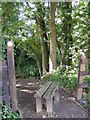 TG0723 : Stile of footpath to Marriott's Way by Adrian Cable