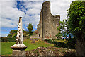 N9070 : Castles of Leinster: Dunmoe, Meath (2) by Mike Searle