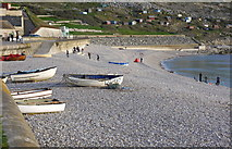 SY6873 : Chesil Cove, Portland by sue hogben