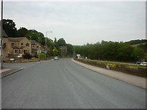 SE1307 : Woodhead Road towards Holmefirth by Ian S
