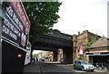 TQ2672 : Railway Bridge, Garratt Lane by N Chadwick