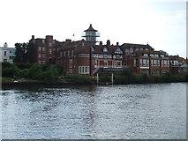 TQ1672 : School on the river, Twickenham by Malc McDonald