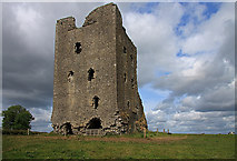 N5544 : Castles of Leinster: Rattin, Westmeath (1) by Mike Searle
