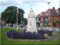 SU9877 : Datchet War Memorial by Rod Allday