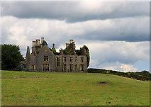 S4176 : Abandoned mansion, Durrow - Knocknatrina House (1) by Mike Searle