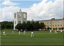 TL4359 : Cricket at Churchill College by John Sutton
