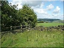 SE0125 : Hebden Royd Footpath 59, Mytholmroyd by Humphrey Bolton