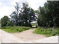 TM1640 : Farm Track at Wherstead Hall Farm by Adrian Cable