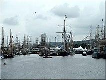 NS2975 : Tall Ships by Andy Farrington