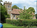 TL1032 : The Church of St Margaret, Higham Gobion, Beds by Raymond Cubberley
