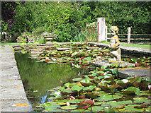 TQ6927 : King's John Garden by Oast House Archive