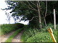 TM4465 : Footpath to Potter's Farm & Baker's Hill by Geographer