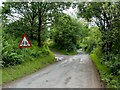 NS4986 : Gartness Road by Lairich Rig
