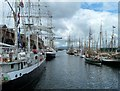 NS2975 : James Watt Dock by Andy Farrington