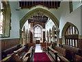 NZ0516 : St Mary's Parish Church, Barnard Castle. Interior by Alexander P Kapp