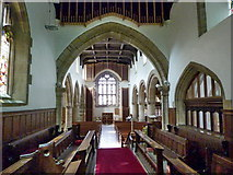 NZ0516 : St Mary's Parish Church, Barnard Castle. Interior by Alexander P Kapp
