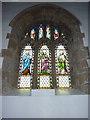 NZ0516 : St Mary's Parish Church, Barnard Castle. Stained glass window by Alexander P Kapp