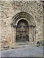 NZ0516 : St Mary's Parish Church, Barnard Castle. Doorway by Alexander P Kapp