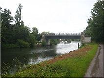 TQ0866 : The east bridge over Desborough Cut by Rod Allday