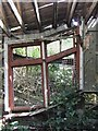 SM9438 : The depth of dereliction: detail of the abandoned station at Goodwick by Stefan Czapski