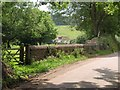 SY0483 : Pebble wall, Dalditch by Derek Harper